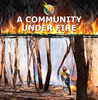A Community Under Fire